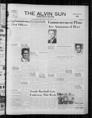 The Alvin Sun (Alvin, Tex.), Vol. 68, No. 40, Ed. 1 Thursday, May 22, 1958
