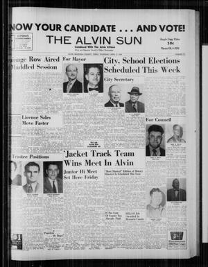 The Alvin Sun (Alvin, Tex.), Vol. 69, No. 33, Ed. 1 Thursday, April 2, 1959