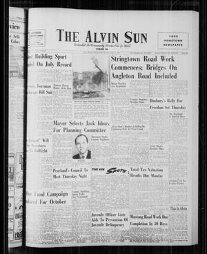 The Alvin Sun (Alvin, Tex.), Vol. 72, No. 1, Ed. 1 Thursday, August 3, 1961