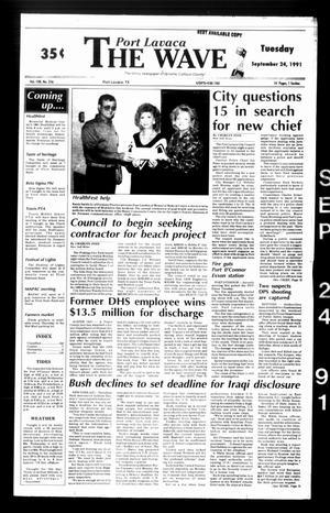 The Wave (Port Lavaca, Tex.), Vol. 100, No. 256, Ed. 1 Tuesday, September 24, 1991