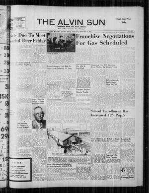 The Alvin Sun (Alvin, Tex.), Vol. 68, No. 6, Ed. 1 Thursday, September 26, 1957