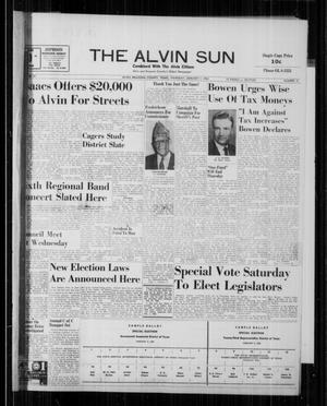 The Alvin Sun (Alvin, Tex.), Vol. 70, No. 21, Ed. 1 Thursday, January 7, 1960