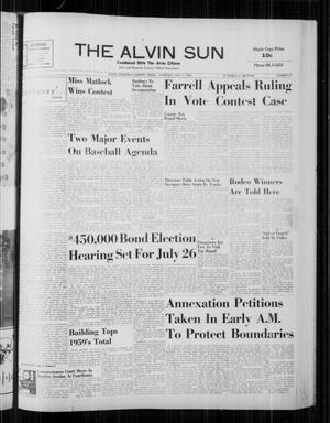 The Alvin Sun (Alvin, Tex.), Vol. 70, No. 47, Ed. 1 Thursday, July 7, 1960