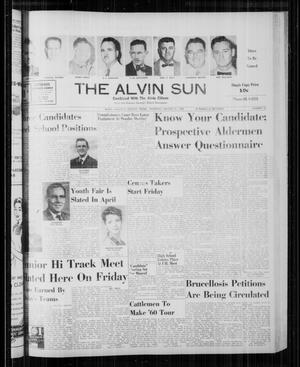 The Alvin Sun (Alvin, Tex.), Vol. 70, No. 33, Ed. 1 Thursday, March 31, 1960
