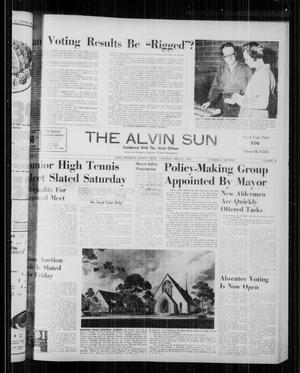 The Alvin Sun (Alvin, Tex.), Vol. 70, No. 36, Ed. 1 Thursday, April 21, 1960