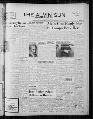 The Alvin Sun (Alvin, Tex.), Vol. 68, No. 10, Ed. 1 Thursday, October 24, 1957