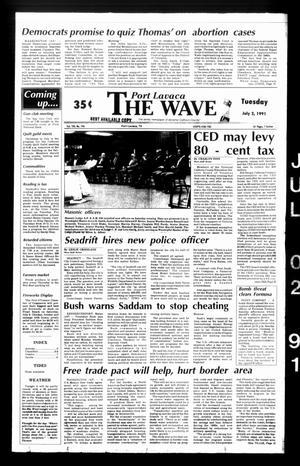 The Wave (Port Lavaca, Tex.), Vol. 100, No. 196, Ed. 1 Tuesday, July 2, 1991