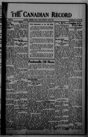The Canadian Record (Canadian, Tex.), Vol. 34, No. 25, Ed. 1  Thursday, June 17, 1926