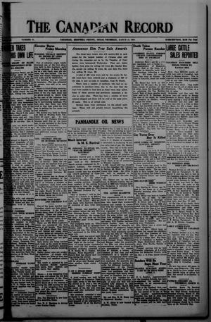 The Canadian Record (Canadian, Tex.), Vol. 35, No. 11, Ed. 1  Thursday, March 10, 1927