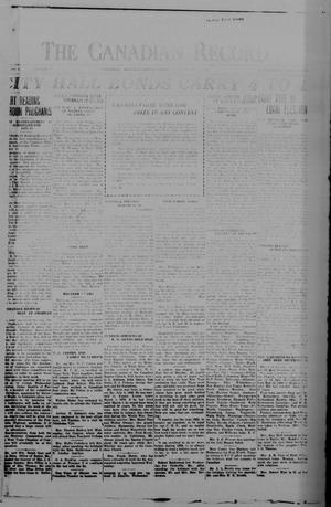 The Canadian Record (Canadian, Tex.), Vol. 37, No. 2, Ed. 1  Thursday, January 3, 1929
