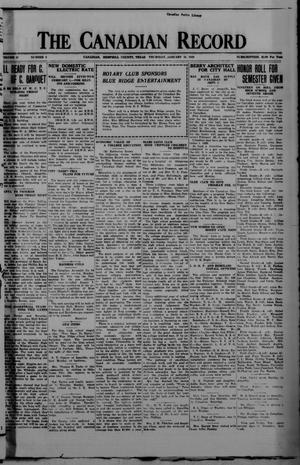 The Canadian Record (Canadian, Tex.), Vol. 37, No. 6, Ed. 1  Thursday, January 31, 1929