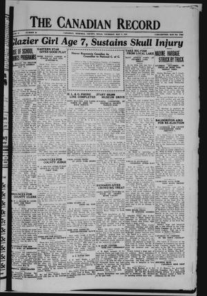 The Canadian Record (Canadian, Tex.), Vol. 40, No. 20, Ed. 1  Thursday, May 8, 1930