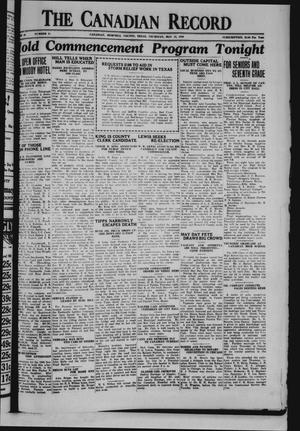 The Canadian Record (Canadian, Tex.), Vol. 40, No. 21, Ed. 1  Thursday, May 15, 1930