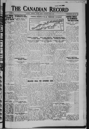 The Canadian Record (Canadian, Tex.), Vol. 40, No. 24, Ed. 1  Thursday, June 5, 1930