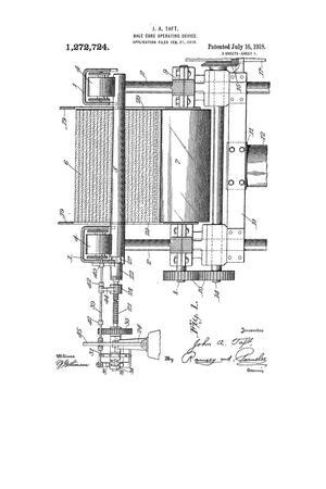 Bale-Core-Operating Device