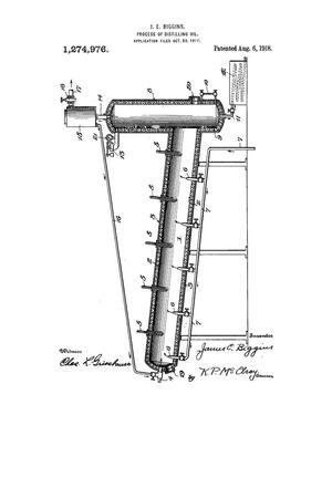 Process of Distilling Oil