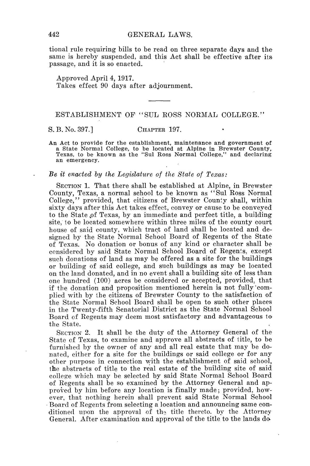 The Laws of Texas, 1915-1917 [Volume 17]                                                                                                      [Sequence #]: 1303 of 1413
