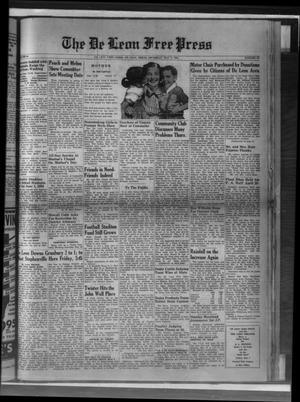 Primary view of The De Leon Free Press (De Leon, Tex.), Vol. 64, No. 44, Ed. 1 Thursday, May 6, 1954
