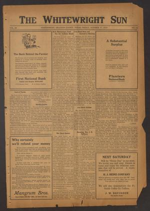 The Whitewright Sun (Whitewright, Tex.), Vol. 39, No. 15, Ed. 1 Friday, October 17, 1919