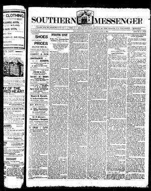 Primary view of Southern Messenger (San Antonio, Tex.), Vol. 6, No. 14, Ed. 1 Thursday, June 3, 1897