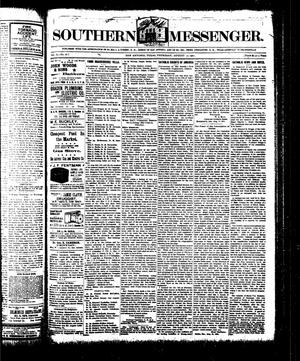 Primary view of Southern Messenger. (San Antonio, Tex.), Vol. 10, No. 26, Ed. 1 Thursday, August 22, 1901
