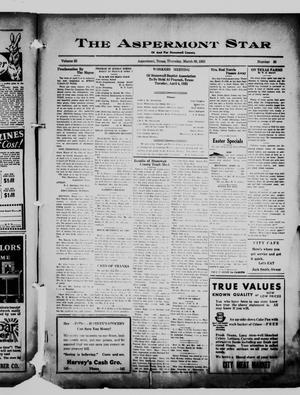 Primary view of The Aspermont Star (Aspermont, Tex.), Vol. 35, No. 39, Ed. 1  Thursday, March 30, 1933