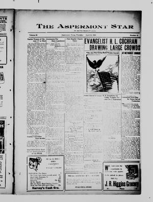 Primary view of object titled 'The Aspermont Star (Aspermont, Tex.), Vol. 36, No. 41, Ed. 1  Thursday, April 12, 1934'.