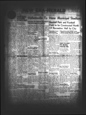 New Era-Herald (Hallettsville, Tex.), Vol. 74, No. [40], Ed. 1 Friday, January 31, 1947