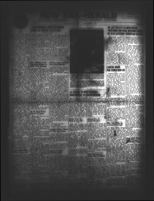New Era-Herald (Hallettsville, Tex.), Vol. 74, No. [59], Ed. 1 Friday, April 11, 1947