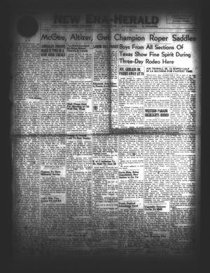 New Era-Herald (Hallettsville, Tex.), Vol. 74, No. [80], Ed. 1 Tuesday, June 24, 1947