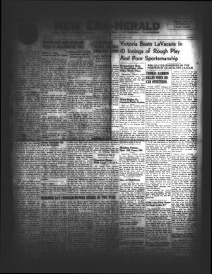New Era-Herald (Hallettsville, Tex.), Vol. 74, No. [74], Ed. 1 Tuesday, June 3, 1947