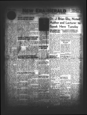 New Era-Herald (Hallettsville, Tex.), Vol. 74, No. [58], Ed. 1 Friday, April 4, 1947