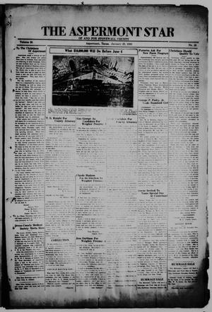 The Aspermont Star (Aspermont, Tex.), Vol. 38, No. 28, Ed. 1  Thursday, January 23, 1936