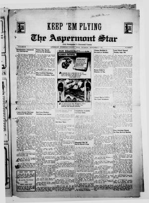 Primary view of object titled 'The Aspermont Star (Aspermont, Tex.), Vol. 43, No. 7, Ed. 1  Thursday, September 11, 1941'.