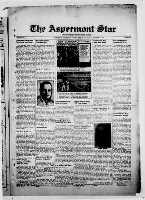 Primary view of object titled 'The Aspermont Star (Aspermont, Tex.), Vol. 43, No. 12, Ed. 2  Thursday, October 16, 1941'.