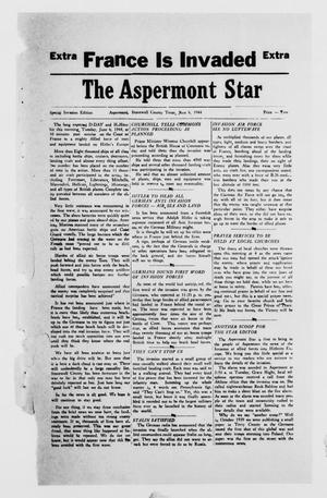 Primary view of object titled 'The Aspermont Star (Aspermont, Tex.), Ed. 1  Tuesday, June 6, 1944'.