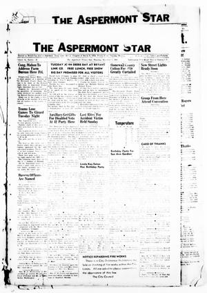 Primary view of object titled 'The Aspermont Star (Aspermont, Tex.), Vol. 53, No. 10, Ed. 1  Thursday, December 1, 1949'.
