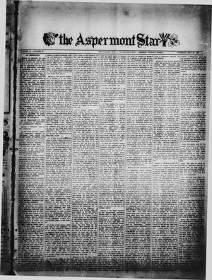 Primary view of object titled 'The Aspermont Star (Aspermont, Tex.), Vol. 54, No. 36, Ed. 2  Thursday, May 24, 1951'.
