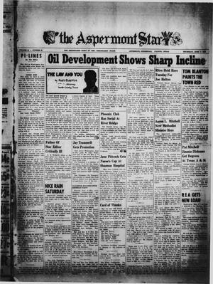 Primary view of The Aspermont Star (Aspermont, Tex.), Vol. 54, No. 38, Ed. 1  Thursday, June 7, 1951