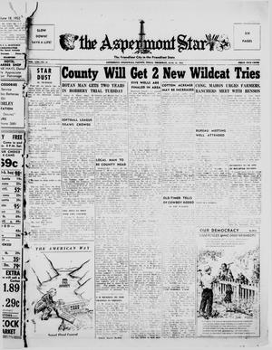 Primary view of object titled 'The Aspermont Star (Aspermont, Tex.), Vol. 56, No. 41, Ed. 1  Thursday, June 25, 1953'.