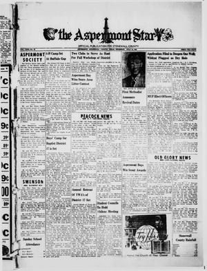 Primary view of object titled 'The Aspermont Star (Aspermont, Tex.), Vol. 63, No. 45, Ed. 1  Thursday, July 13, 1961'.