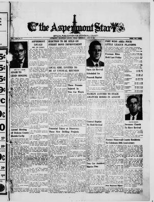 The Aspermont Star (Aspermont, Tex.), Vol. 63, No. 47, Ed. 1  Thursday, July 27, 1961
