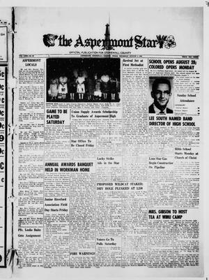 The Aspermont Star (Aspermont, Tex.), Vol. 63, No. 48, Ed. 1  Thursday, August 3, 1961