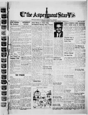 Primary view of object titled 'The Aspermont Star (Aspermont, Tex.), Vol. 64, No. 4, Ed. 1  Thursday, September 28, 1961'.