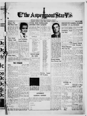 The Aspermont Star (Aspermont, Tex.), Vol. 64, No. 15, Ed. 1  Thursday, December 14, 1961