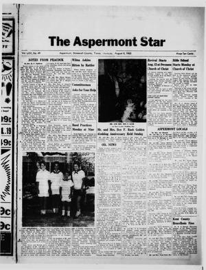Primary view of object titled 'The Aspermont Star (Aspermont, Tex.), Vol. 65, No. 49, Ed. 1  Thursday, August 8, 1963'.