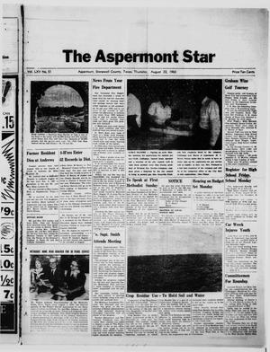Primary view of object titled 'The Aspermont Star (Aspermont, Tex.), Vol. 65, No. 51, Ed. 1  Thursday, August 22, 1963'.