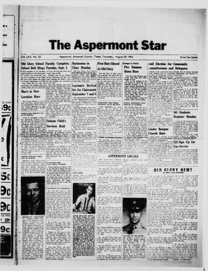 Primary view of object titled 'The Aspermont Star (Aspermont, Tex.), Vol. 65, No. 52, Ed. 1  Thursday, August 29, 1963'.