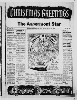 Primary view of object titled 'The Aspermont Star (Aspermont, Tex.), Vol. 66, No. 17, Ed. 1  Thursday, December 26, 1963'.