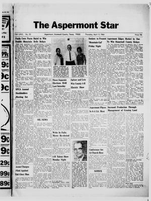 Primary view of object titled 'The Aspermont Star (Aspermont, Tex.), Vol. 66, No. 32, Ed. 1  Thursday, April 9, 1964'.